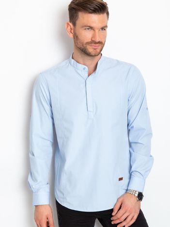 Jasnoniebieska koszula męska Maxwell