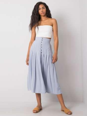 Jasnoniebieska spódnica Liselle