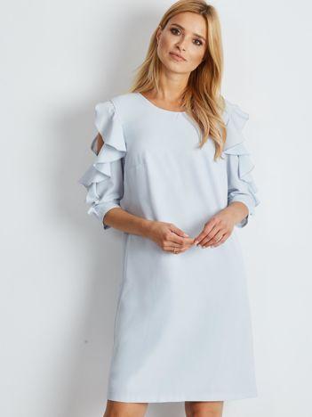 fbe0b5ef67f575 Sukienki z falbaną, modne i tanie sukienki z falbankami w ebutik.pl!