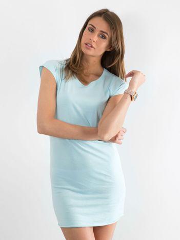 Jasnoniebieska sukienka Limousine