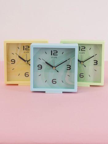 Jasnoniebieski kwadratowy zegarek stojący