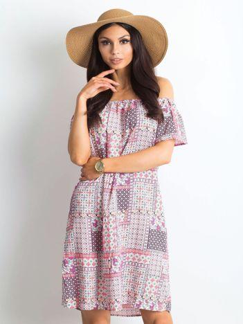 8624a6b9f6 Jasnoróżowa sukienka Juventada