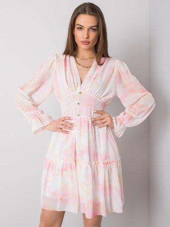 Jasnoróżowa sukienka Whitney OCH BELLA