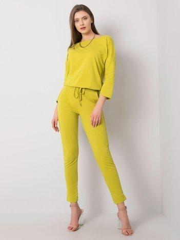 Jasnozielone spodnie Nina