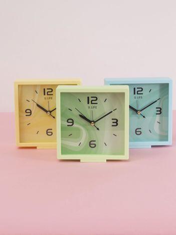 Jasnozielony kwadratowy zegarek