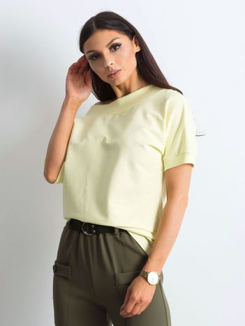 Jasnożółta melanżowa bluzka Lemontree