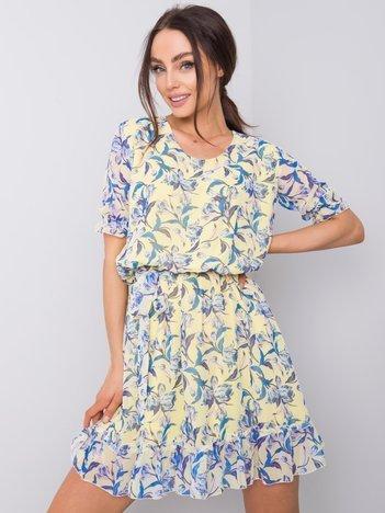 Jasnożółta sukienka Jane