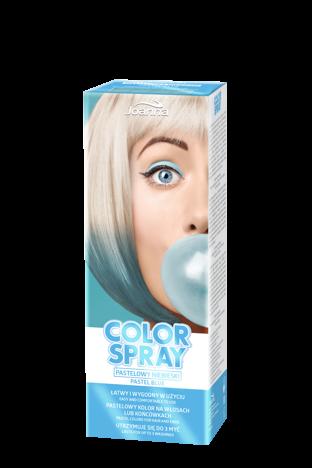 Joanna COLOR SPRAY Pastelowy niebieski 150ml