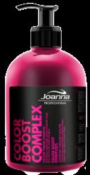 Joanna PROFESSIONAL COLOR BOOST KOMPLEKS Szampon tonujący kolor do blondów (różowa poświata) 500 g