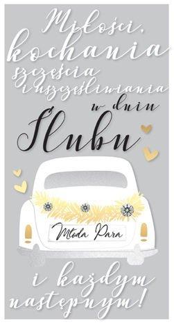 KUKARTKA Kartka Miłości, kochania, szczęścia i uszczęśliwiania w dniu Ślubu... Wyjątkowa i niepowtarzalna kartka z kolekcji Passion Moments