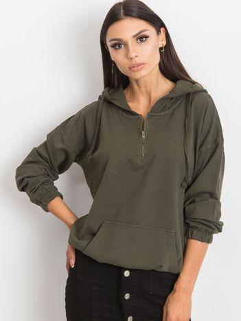 Khaki bluza Kimmie