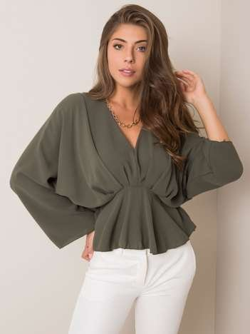Khaki bluzka Raquela