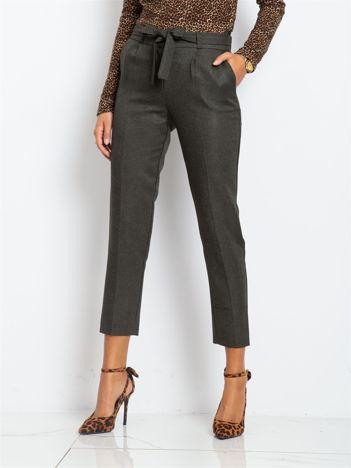 Khaki spodnie Cindy