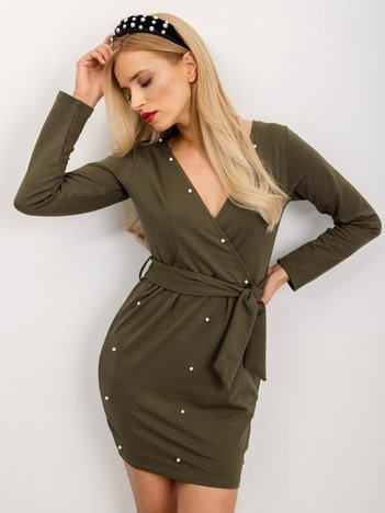 Khaki sukienka Total