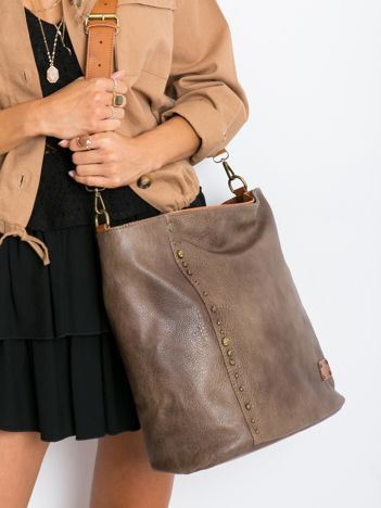 Khaki torba damska city bag