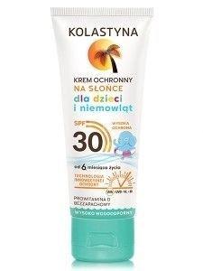 Kolastyna Opalanie Krem ochronny na słońce dla dzieci i niemowląt SPF 30  75 ml