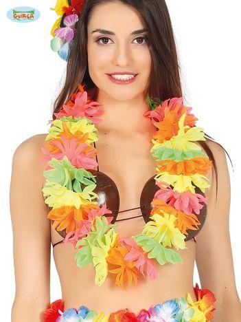 Kolorowe kwiaty hawajskie na imprezę