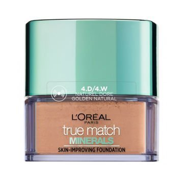 L'Oreal True Match Minerals Skin-Improving Foundation puder mineralny 4.D/4.W Golden Natural 10 g