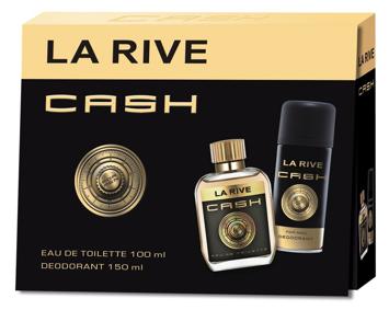 "La Rive La Rive for Men Cash Zestaw/edt90ml+deo150ml/"""