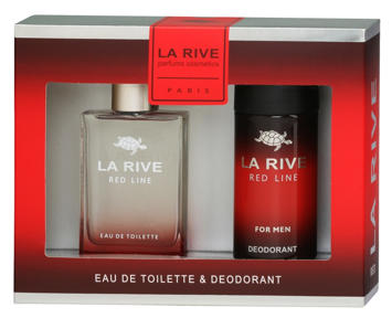 La Rive La Rive for Men Red Line Zestaw/edt90ml+deo150ml/""