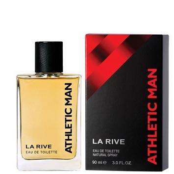 "La Rive for Men ATHLETIC MAN Woda toaletowa 90ml"""