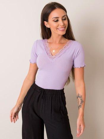 Liliowa bluzka Miranda RUE PARIS