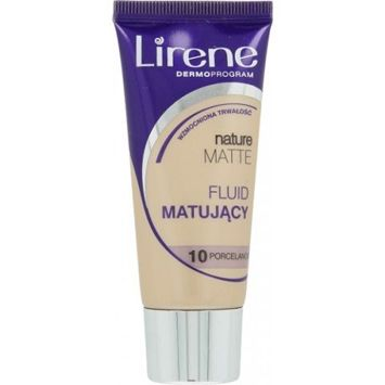 Lirene Fluid Matujący Nature Matt-  Porcelanowy 10 30 ml