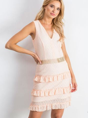 Łososiowa sukienka Versatility