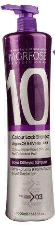 MORFOSE 10 SZAMPON COLOUR LOCK do włosów farbowanych 1000 ml