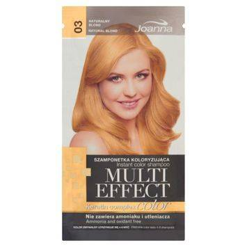 MULTI EFFECT color Keratin complex Szamponetka koloryzująca Naturalny  blond  /03/