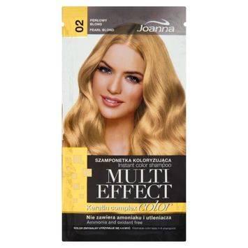 MULTI EFFECT color Keratin complex Szamponetka koloryzująca Perłowy blond  /02/