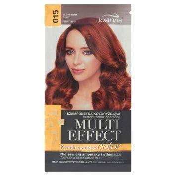 MULTI EFFECT color Keratin complex Szamponetka koloryzująca Płomienny rudy  /015/