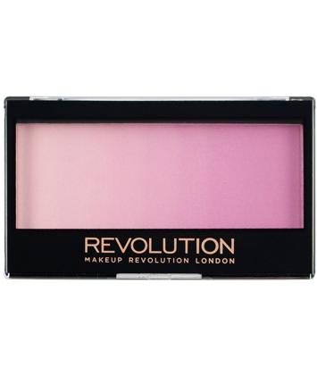 Makeup Revolution Gradient Highlighter Rozświetlacz z różem Peach Mood Lights 12 g