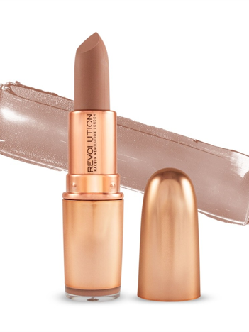 Makeup Revolution Iconic Matte Nude Lipstick Pomadka do ust matowa Wishful