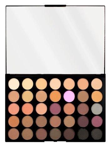 Makeup Revolution Pro HD Amplified 35 Palette Cienie do powiek Neutrals Cool 30g (35 kolorów)