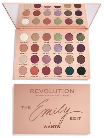 Makeup Revolution The Emily Edit Paleta cieni The Wants Palette