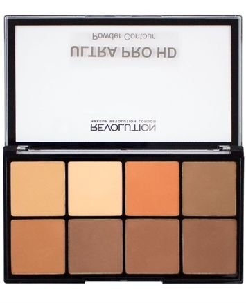 Makeup Revolution Ultra Pro HD Powder Contour Zestaw pudrów do konturowania Medium Dark 20g