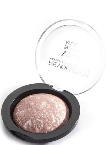 Makeup Revolution Vivid Baked Blush Róż wypiekany Hard Day 6g