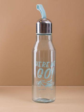 Miętowa butelka plastikowa