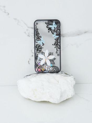 Miętowo-czarne etui do iPhone 7G/8G