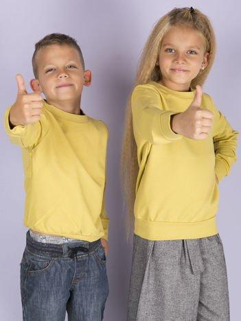 Miodowa bluza młodzieżowa
