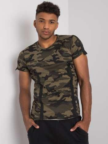 Moro t-shirt męski bawełniany Davis