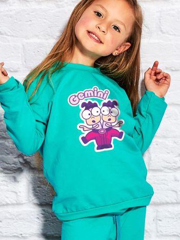 Morska bluza dziecięca znak zodiaku BLIŹNIĘTA