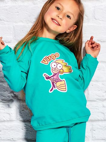 Morska bluza dziecięca znak zodiaku PANNA