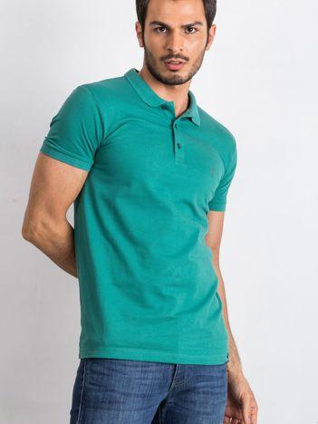 Morska męska koszulka polo Numerous