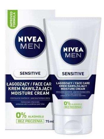 NIVEA MEN Sensitive Krem do twarzy Łagodzący  75 ml