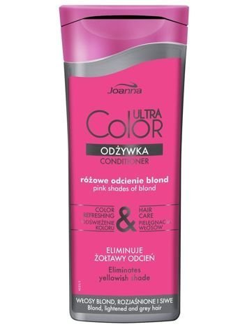 NOWOŚĆ! Joanna ULTRA Color SYSTEM Odżywka różowe odcienie blond 200 g