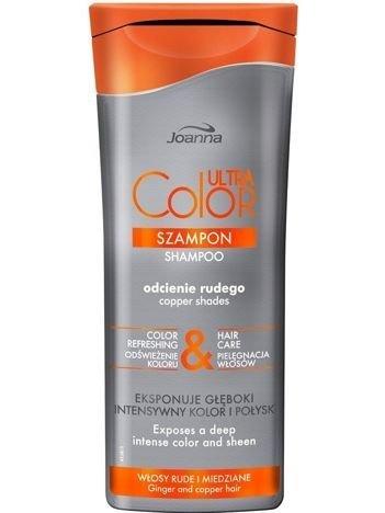 NOWOŚĆ! Joanna ULTRA Color SYSTEM Szampon odcienie rudego 200 ml