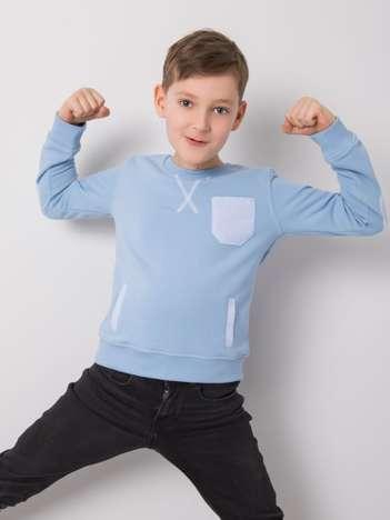 Niebieska bluza dla chłopca DODO KIDS
