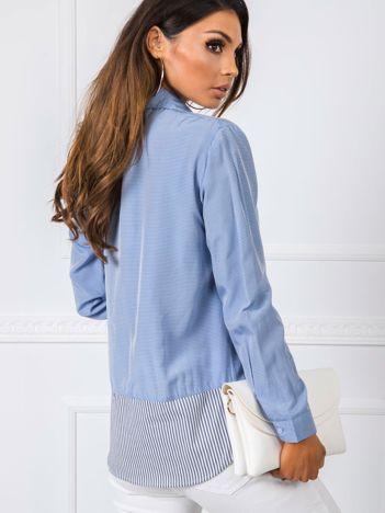 Niebieska koszula Monna RUE PARIS